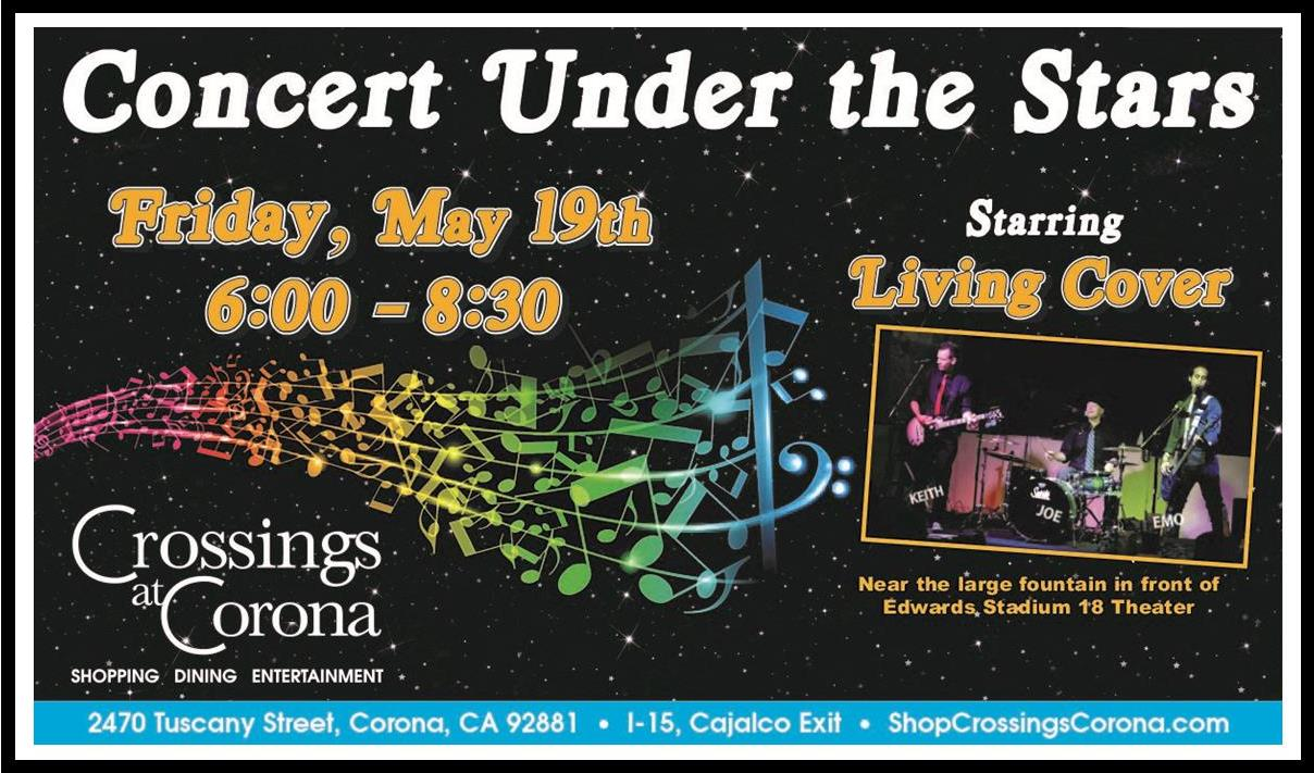 2nd Annual Concert Under the Stars @ Crossings at Corona | Corona | California | United States