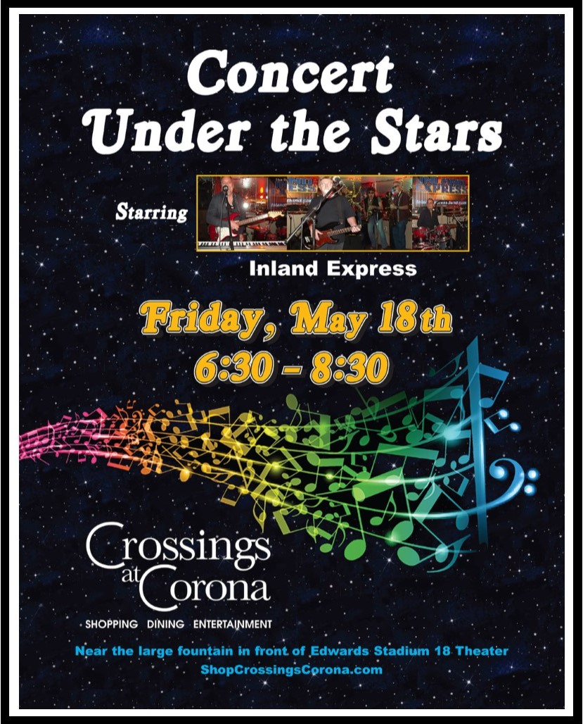 3rd Annual Concert Under the Stars @ Crossings at Corona  | Corona | California | United States